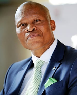 Chief Justice, Mogoeng Mogoeng, gave a comprehensive response to the questions raised after his speech in Stellenbosch last week. Photo MARY-ANN PALMER