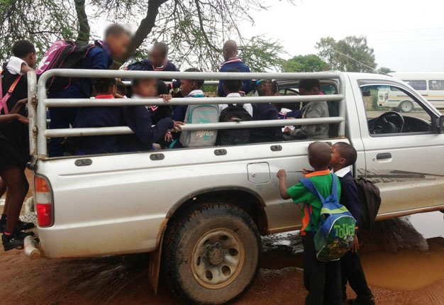 An End To Bakkie Taxis Dot Should Ban Transportation Of