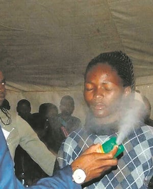 'Prophet' Lethebo Rabalago has claimed that using Doom insecticide on people heals them of their illnesses