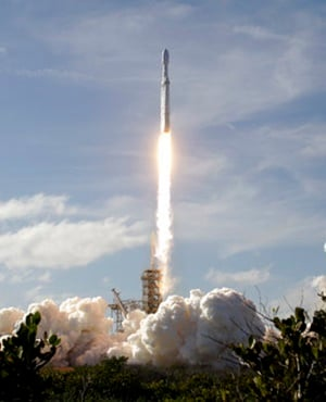 Musk scores a much-needed win with successful SpaceX launch
