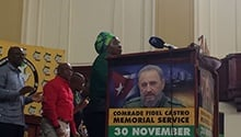 SA pays tribute to Fidel Castro