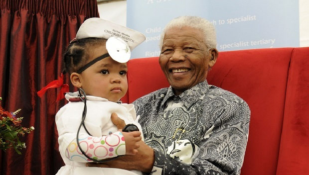 Nelson Mandela was a strong advocate for providing treatment to children.