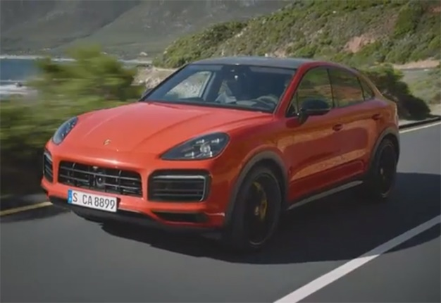 Watch Fast And Beautiful The Luxury Sa Bound Porsche Cayenne Coupe Wheels24