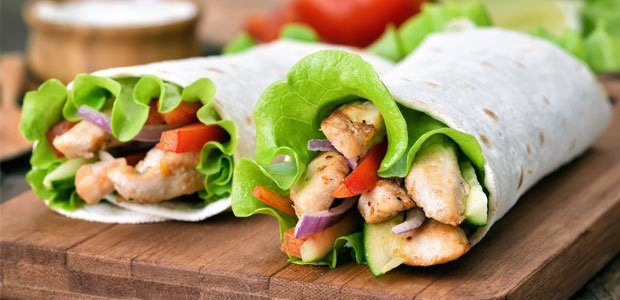 recipes,wraps, healthy,light meals, summer, food24