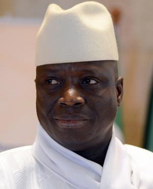 Yahya Jammeh (File: AFP)