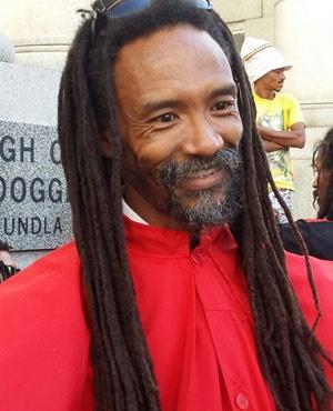 Garreth Prince, an applicant to have dagga decriminalised (Jenni Evans, News24)