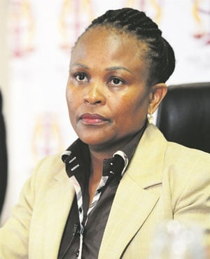 Public Protector Busisiwe Mkhwebane (City Press)