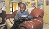 Andile Bhengu gets ready for school