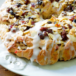 Easter ring bread