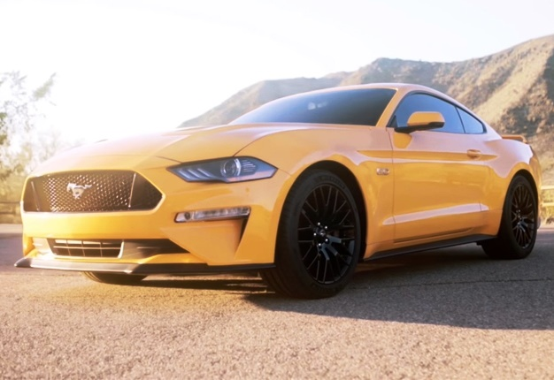 New Stang In The States The New Ford Mustang Is Sleeker And More Powerful And Comes With A Load Of New Options Sadly Its Not Planned For Sa Yet
