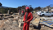 'It's a horror' - resident as shacks torn down