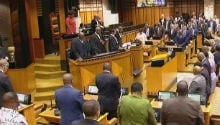 WATCH: Joint sitting debate of State of the Nation Address