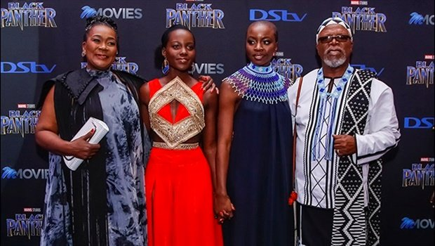 PICS: Celebs spotted at the official Black Panther SA Premiere