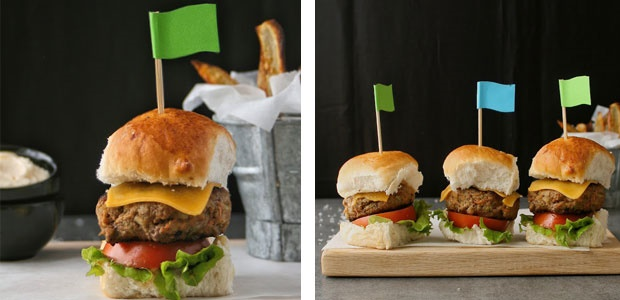 burgers, sliders, beef, vegetables, kids, recipes,