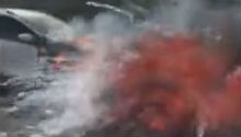 WATCH: Drive-by observer films another Ford Kuga exploding near CT