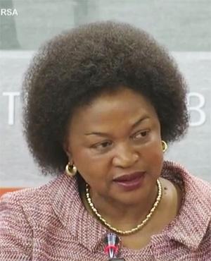 National Assembly Speaker Baleka Mbete (Parliament TV)