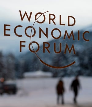 "This year's WEF focus is on ""mastering the fourth Industrial Revolution"". (AFP)"