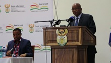 WATCH: President Zuma asks for under performing schools to be held accountable