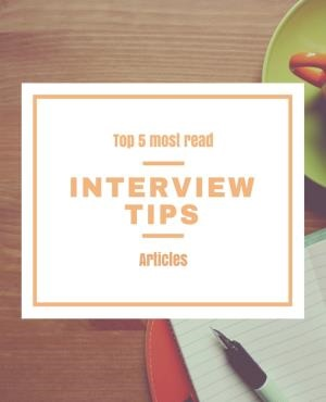The top 5 most popular interview tips articles in 2016