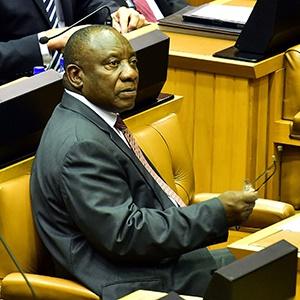 President Cyril Ramaphosa. (PresidencyZA)