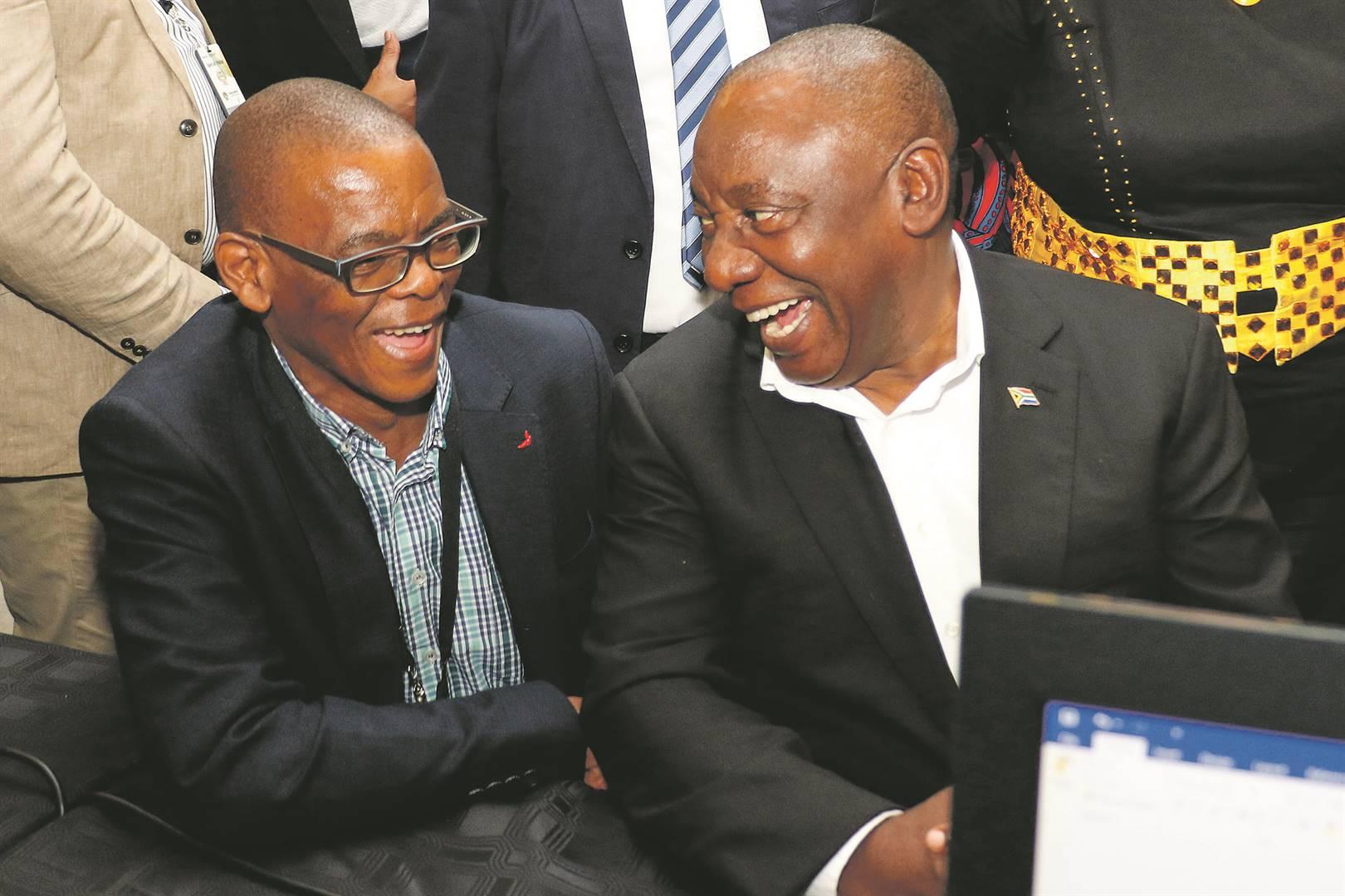 On thin Ace: Ramaphosa blinks ahead of step-down showdown with Magashule - News24