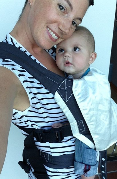 shannon mclaughin and her baby