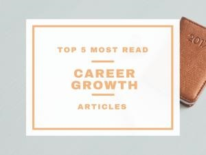 The top 5 most popular Career Growth articles in 2016