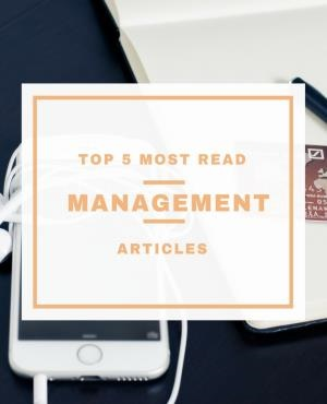 The top 5 most popular management articles in 2016