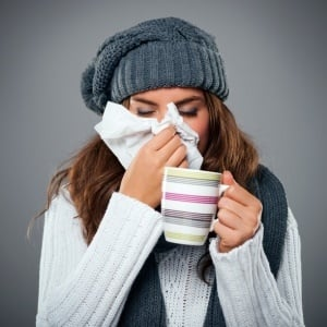 Cold and flu symptoms – iStock