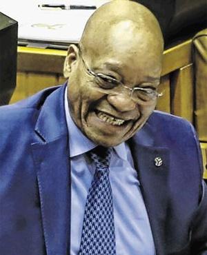 President Jacob Zuma. (Supplied, Msholozi)