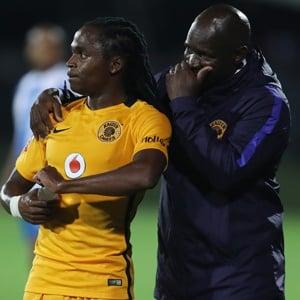 Siphiwe Tshabalala and Steve Komphela (Galllo Images)