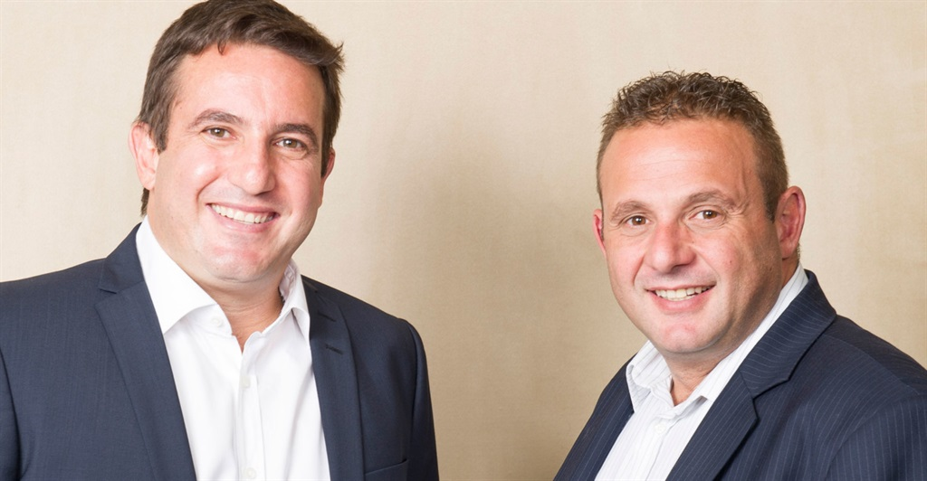 Joint CEOs of Blue Label, Brett (right) and Mark Levy (left) (SUPPLIED)