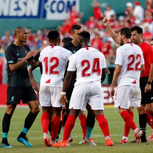 Pre-season friendly between Liverpool v Sevilla