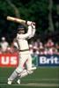 Clive Rice strikes a boundary