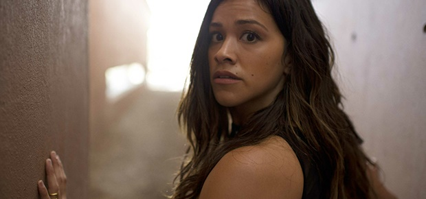 Gina Rodríguez in a scene from 'Miss Bala.'