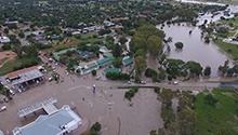 WATCH: Dramatic footage shows floods sweeping through SA