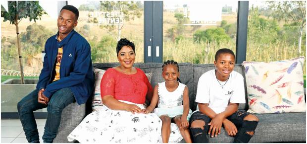 The late Mandoza's wife Mpho Tshabalala