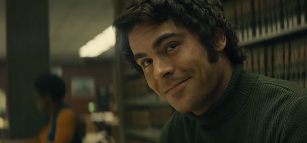 Zac Efron as Ted Bundy in  Extremely Wicked, Shock