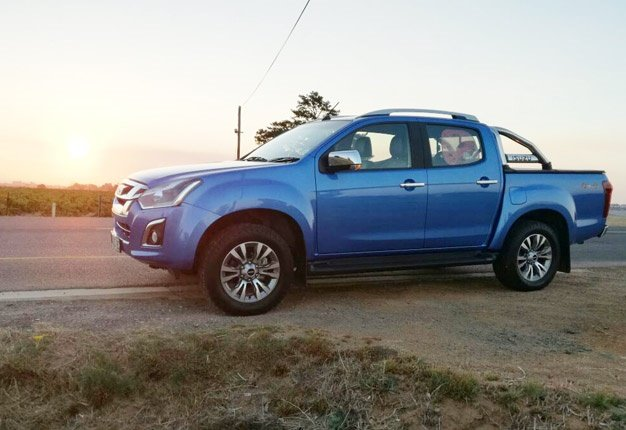 <b>A BAKKIE FOR THE FAMILY:</B> 'The Isuzu KB is more than just a tough bakkie built for a farm,' claims Wheels24's Janine Van der Post. <i>Image: Clavern Van der Post</i>