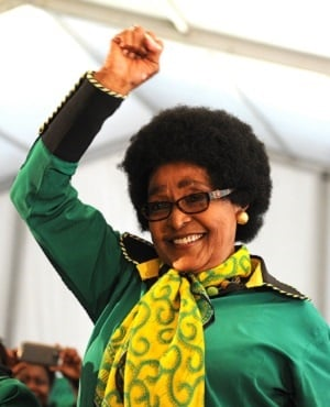 Winnie Madikizela-Mandela during her birthday celebrations on September 26, 2016 in Soweto, South Africa. (Photo by Gallo Images/Felix Dlangamandla)