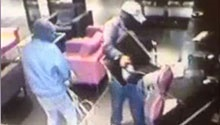 WATCH: CCTV footage shows Durban computer bandits in action