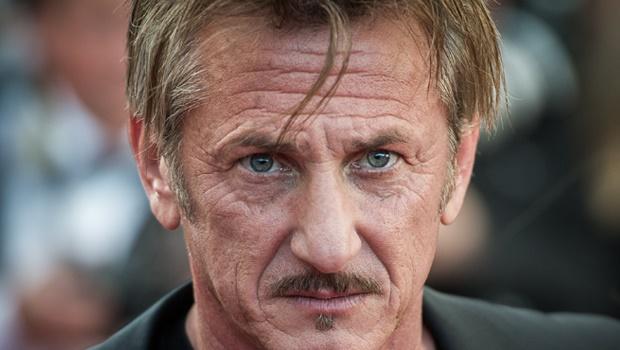 Sean Penn at the 69th Annual Cannes Festival