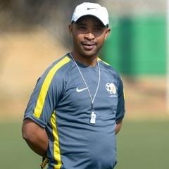 The SA Under-20 coach Thabo Senong. (Gallo Images)