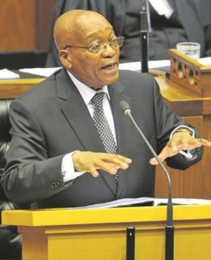 President Jacob Zuma. (Lulama Zenzile, Netwerk24)