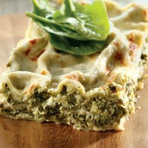 PHOTO: Easy veggie lasagne