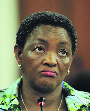 Bathabile Dlamini appears before Parliament's Standing Committee on Public Accounts (Gallo Images)