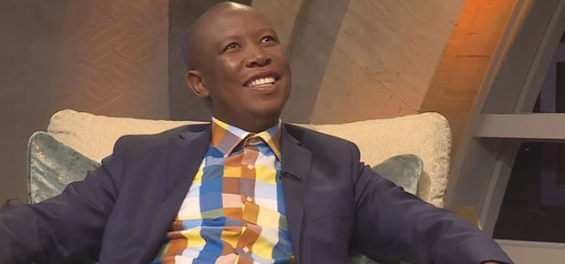 Julius Malema (Photo: Screengrab, YouTube)