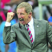 IN A FIX Stuart Baxter's pending move might have affected his players. Picture: Samuel Shivambu / Backpagepix