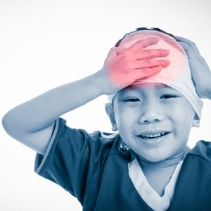 Kids suffering from concussion could experience s