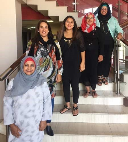 Kamroodien family four pregnant sisters